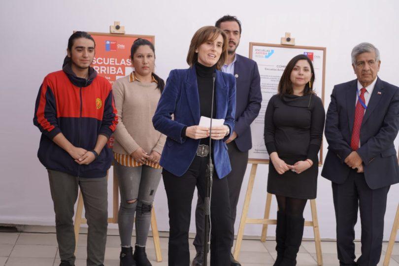"""""""Cupos Solidarios"""": la iniciativa que reforzará académicamente al 10% de los alumnos de mejor rendimiento de enseñanza media"""