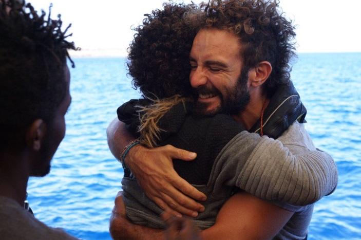 Los migrantes del Open Arms finalmente desembarcaron en la isla de Lampedusa