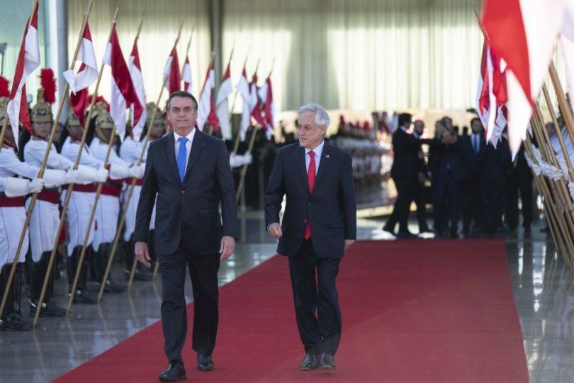 Presidente Piñera llegó enfermo tras su gira internacional