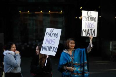Coordinadora feminista se tomó las dependencias de la Fiscalía Nacional