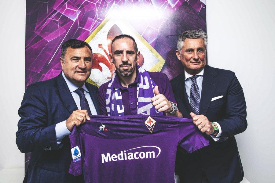 """""""Franck Ribéry ficha por la Fiorentina y será compañero de Erick Pulgar"""""""