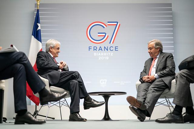 G7 pide ayuda a Chile por incendios en la Amazonía