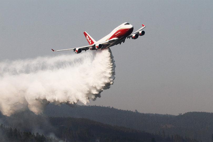 Supertanker llega a Bolivia para combatir los incendios forestales