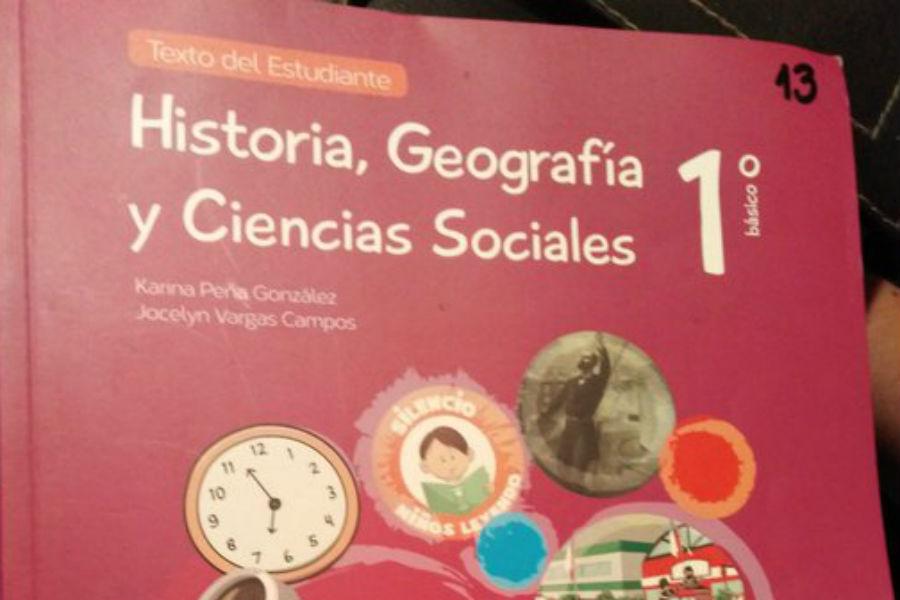 Denuncian garrafal error en texto de Historia y Geografía entregado por el Mineduc
