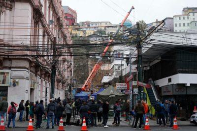 Entregan identidades de tres víctimas del derrumbe en Valparaíso