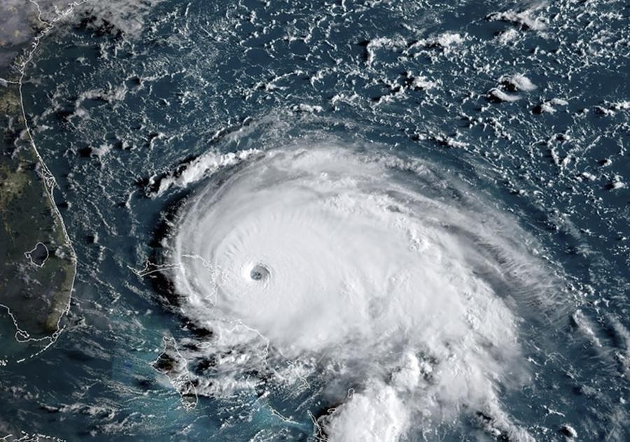 Huracán Dorian alcanzó categoría 5 y golpeó fuertemente a las Bahamas