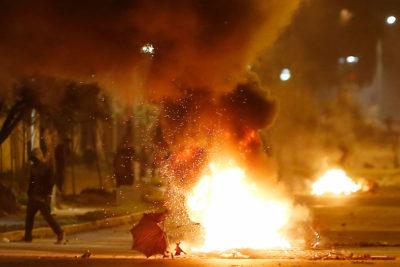 Balance 11 de septiembre: seis carabineros heridos y más de 40 detenidos en Santiago