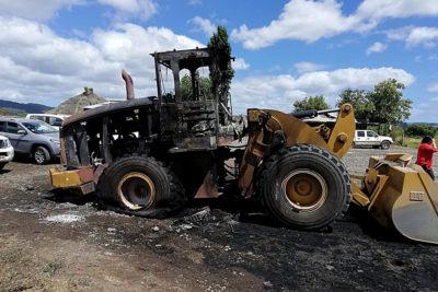 """Contratistas forestales """"aburridos"""" por atentados amenazan con dejar Arauco"""