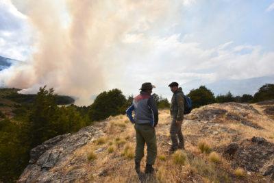 Declaran alerta temprana preventiva para cuatro regiones por amenaza de incendios forestales
