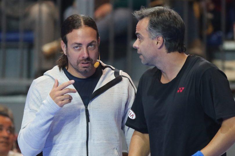 Tenis: Fernando González derrotó a Nicolás Massú en partido de exhibición