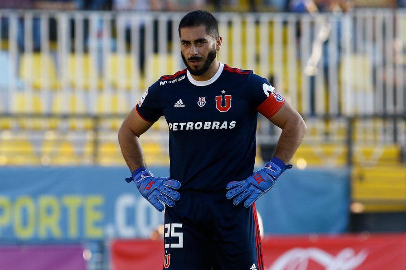 Johnny Herrera volverá al arco de la U para el partido con Cobresal por Copa Chile