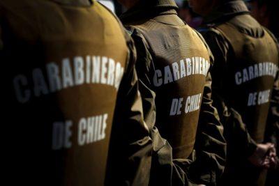 Dos carabineros fueron heridos tras ataque con perdigones en Arauco