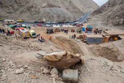 Una persona fallece tras derrumbe en la mina San Antonio