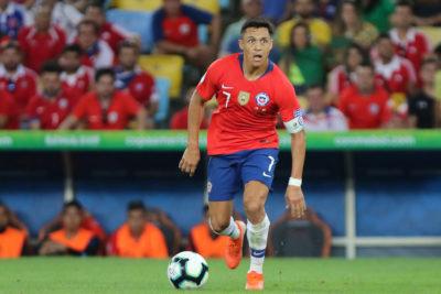 Alexis Sánchez es el capitán de Chile ante Argentina