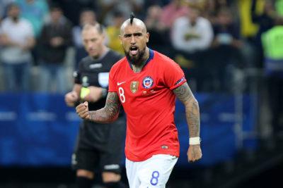 Arturo Vidal es nominado al once ideal de la FIFA