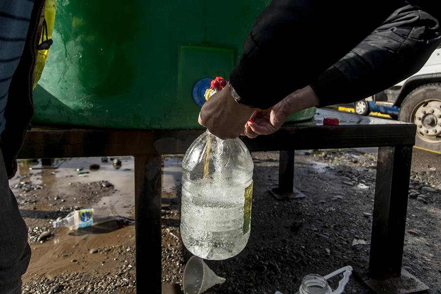"""""""Posible reposición del agua en Chiguayante será informado esta tarde"""""""