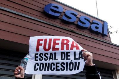 Essal inició acciones legales por rotura de tubería en Ancud
