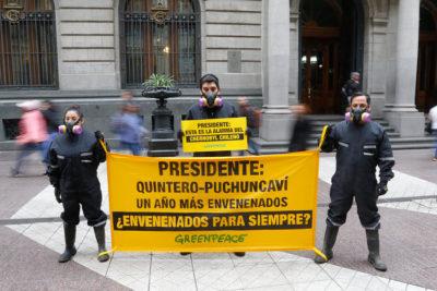 Vecinos de Quintero y Puchuncaví critican dichos de Piñera en la ONU