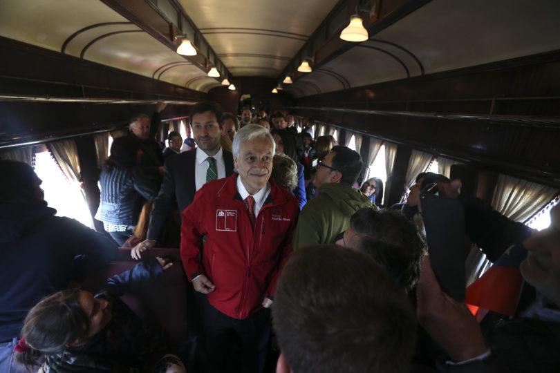 """La confesión de Piñera: """"Creo que he concebido a más de uno de mis hijos en un tren"""""""