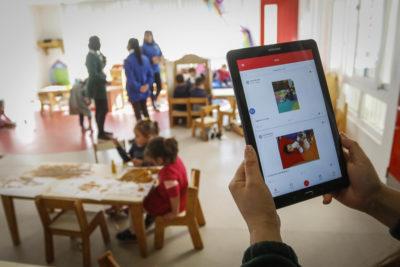 """""""Mi Jardín"""": la nueva app que busca mejorar la comunicación entre las familias y los jardines infantiles"""