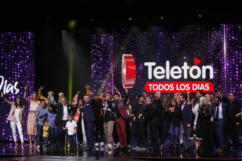 """Teletón lanzó campaña 2019 bajo el lema """"Todos los días"""""""