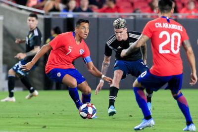 La 'Roja' igualó sin goles con Argentina en amistoso jugado en Los Ángeles