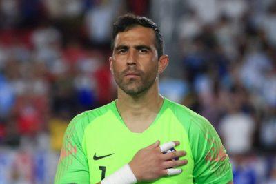 El motivador mensaje de Claudio Bravo para la Roja tras el amistoso con Argentina