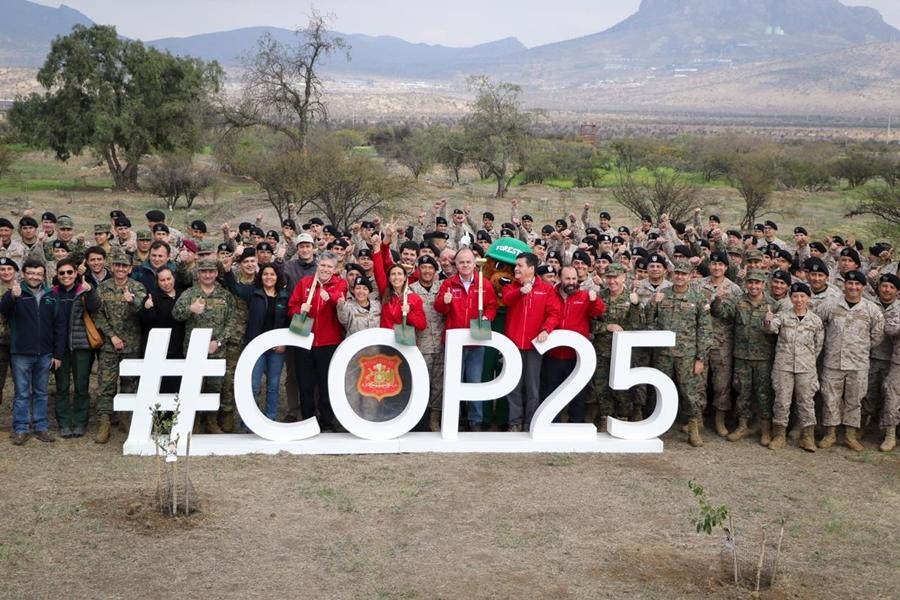 """""""Plan de reforestación: Ejército y CONAF idean programa en recintos militares"""""""