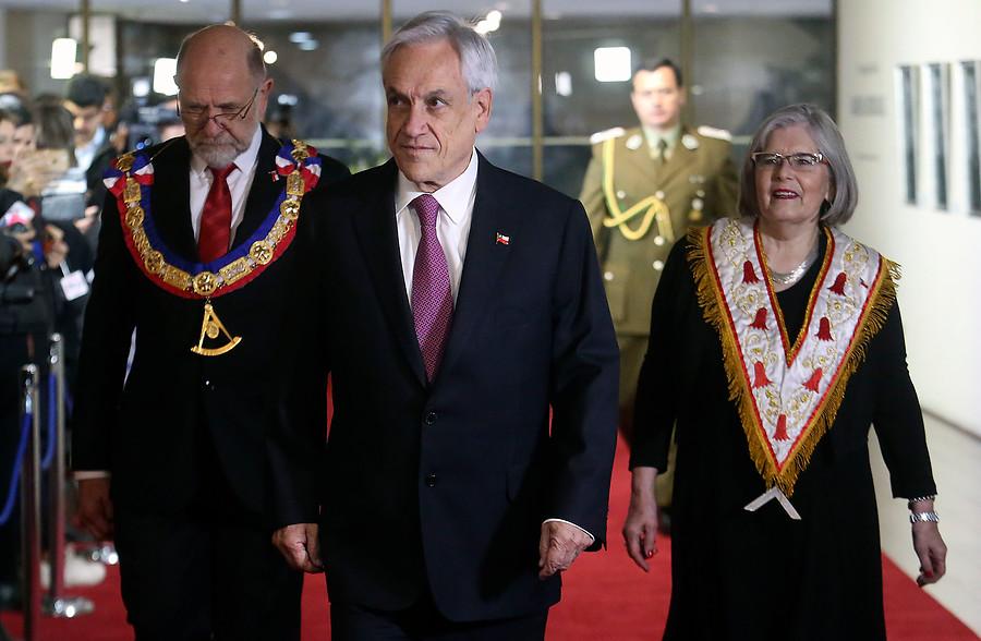 Piñera y marcha anti inmigrantes: