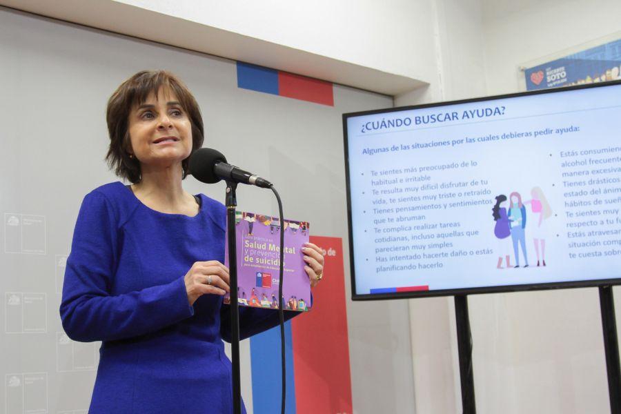 Ministerio de Salud presenta la primera Guía Práctica para la Prevención de Suicidio
