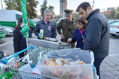 Seremi de Salud RM lideró retención de carros de comida ambulante