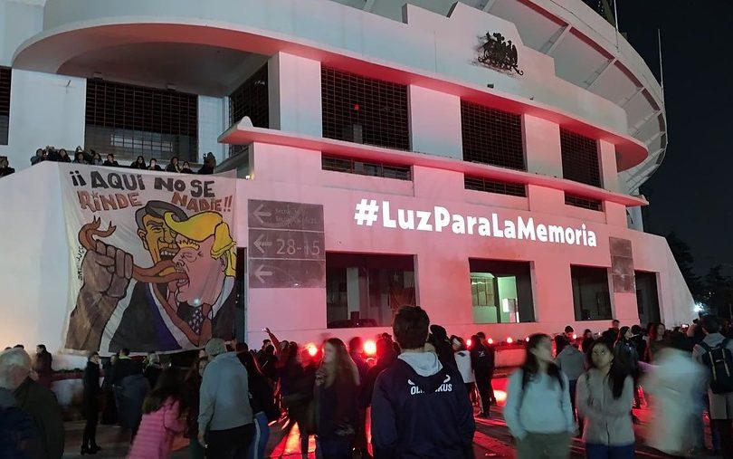 Miles de personas conmemoraron el 11 de septiembre en el Estadio Nacional