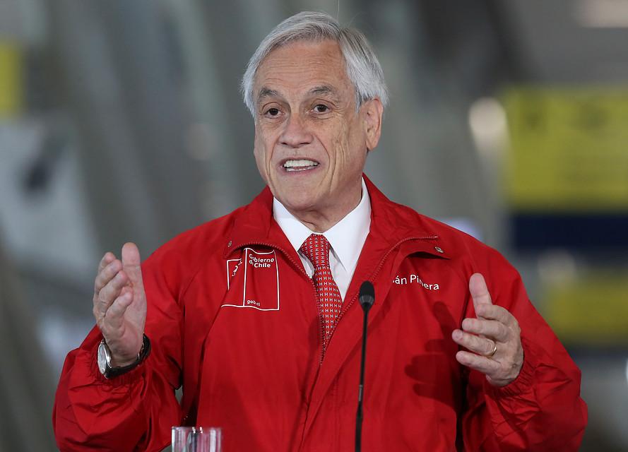 Piñera será premiado por lucha contra el cambio climático