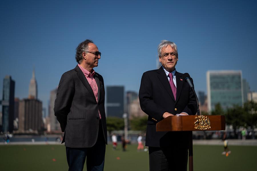 Piñera participará en la Asamblea General de la ONU en Nueva York