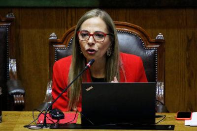 """Ministra de la Mujer propone """"ponerle un chip"""" a imputados por violencia de género"""