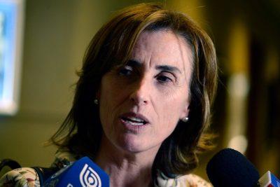 Ministra Cubillos resuelve no asistir a la comisión ad-hoc por acusación