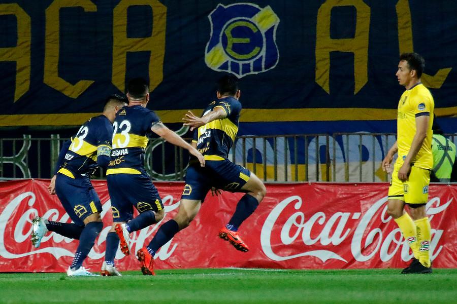 Everton superó a U. de Concepción en duelo clave en lucha por no descender