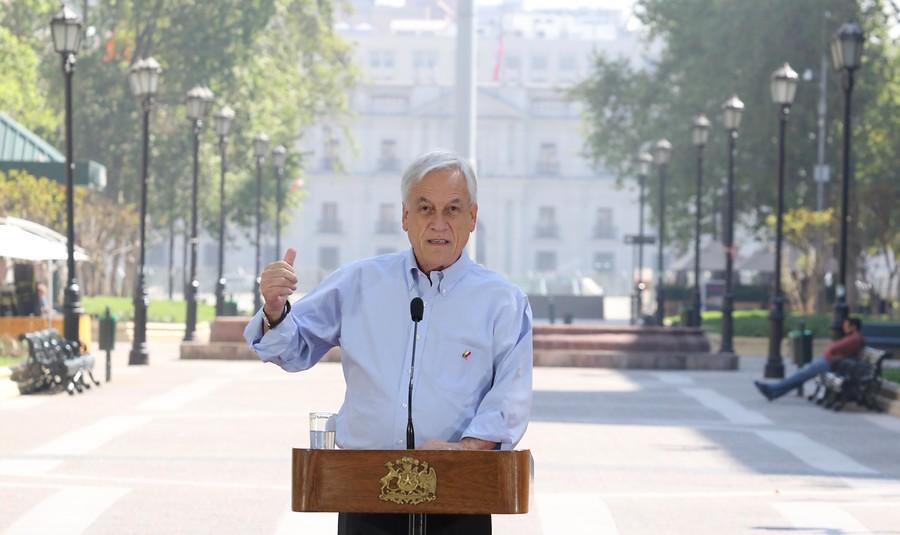 Piñera lanza dura crítica por incidentes post marcha contra el cambio climático
