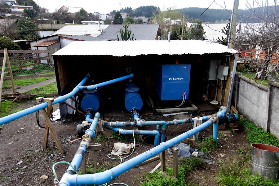 Agua de Puerto Octay fue contaminada con diluyente