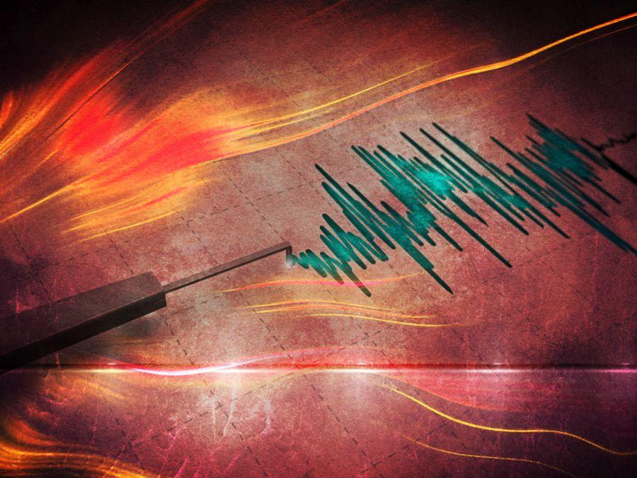 El registro en video del fuerte temblor 6.7 en la zona centro sur