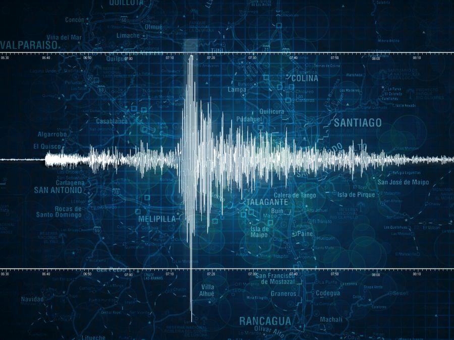 Sismo de magnitud 6.7 se sintió en la zona central de Chile