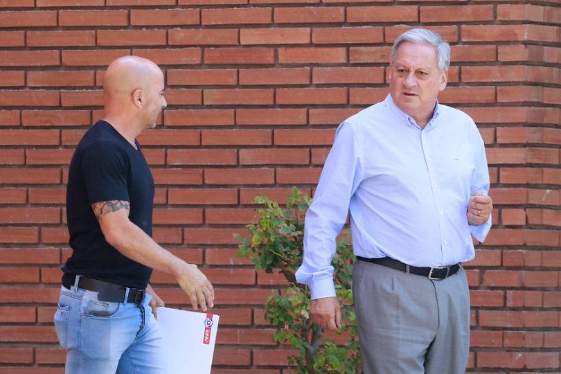Del 'rehén' a la demanda: así fue el quiebre definitivo de Jorge Sampaoli con la ANFP