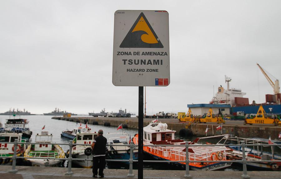 Onemi llevará a cabo simulacro por sismo y tsunami en Valparaíso