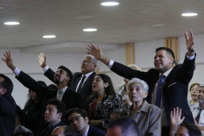 Así prepara su debut Unidos en la Fe, el primer partido evangélico de Chile