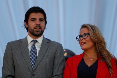 """Alcalde Lavín: """"A la Cathy la defiendo; a Joaquín por los atrasos, no"""""""