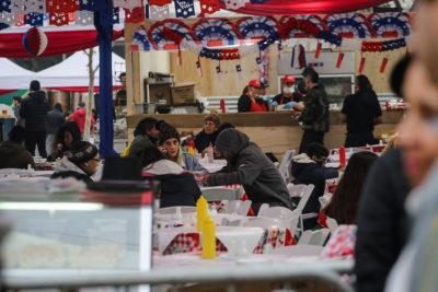 Municipalidad de Santiago: 30 mil personas han asistido al Parque O'Higgins