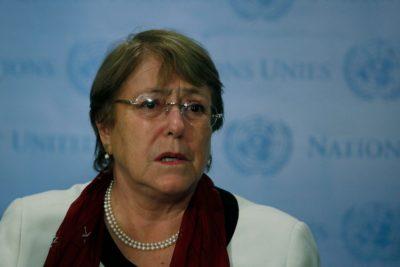 """Bachelet: """"La crisis climática es la mayor amenaza a los derechos humanos"""""""