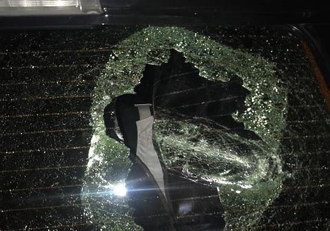 Atacan automóvil del Director General de la PDI en el centro de Santiago