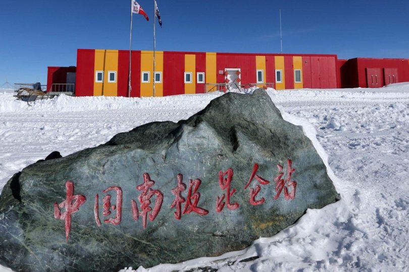 China con un pie dentro de la base chilena en la Antártica