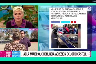 VIDEO |Mujer que acusó a Jordi Castell de agresión alzó la voz en Bienvenidos y exigió disculpas públicas